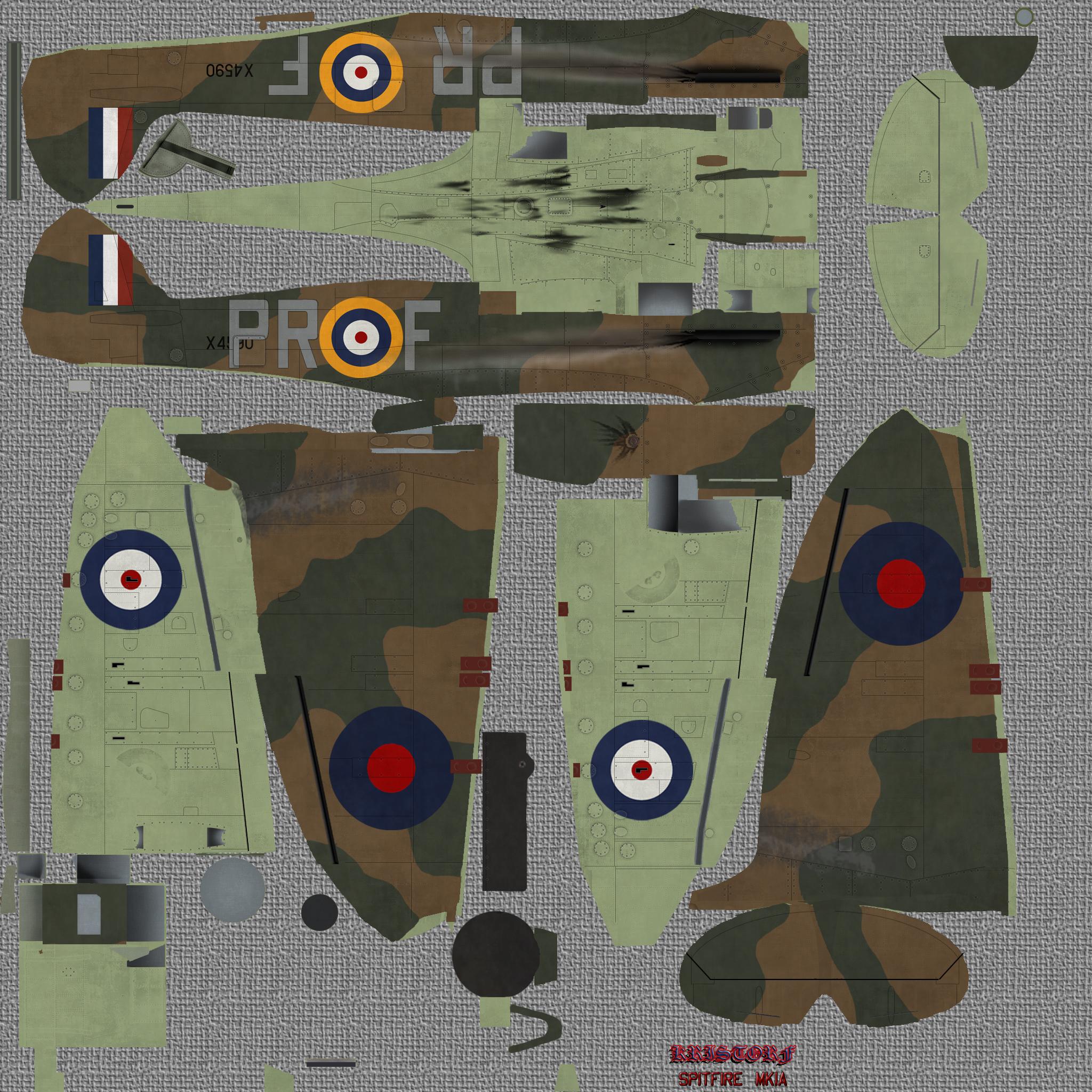 COD KF MkI RAF 609Sqn PRF X4590 Middle Wallop 1940