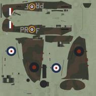 Asisbiz COD C6 MkI RAF 609Sqn PRF Alfred Ogilvie X4107 Middle Wallop 1940