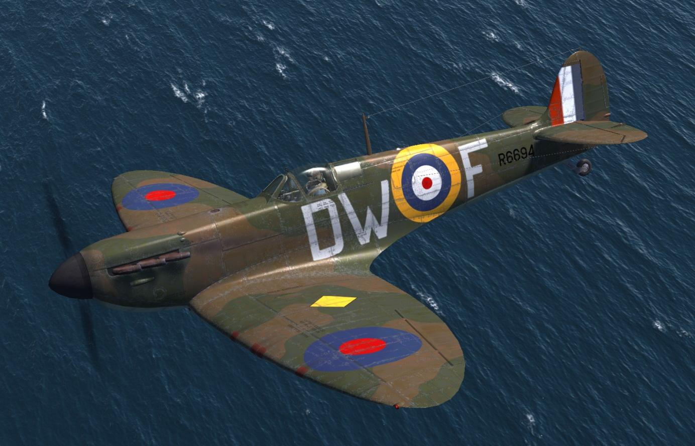 COD C6 MkI RAF 610Sqn DWF Pegge Chester England 1940 V0A