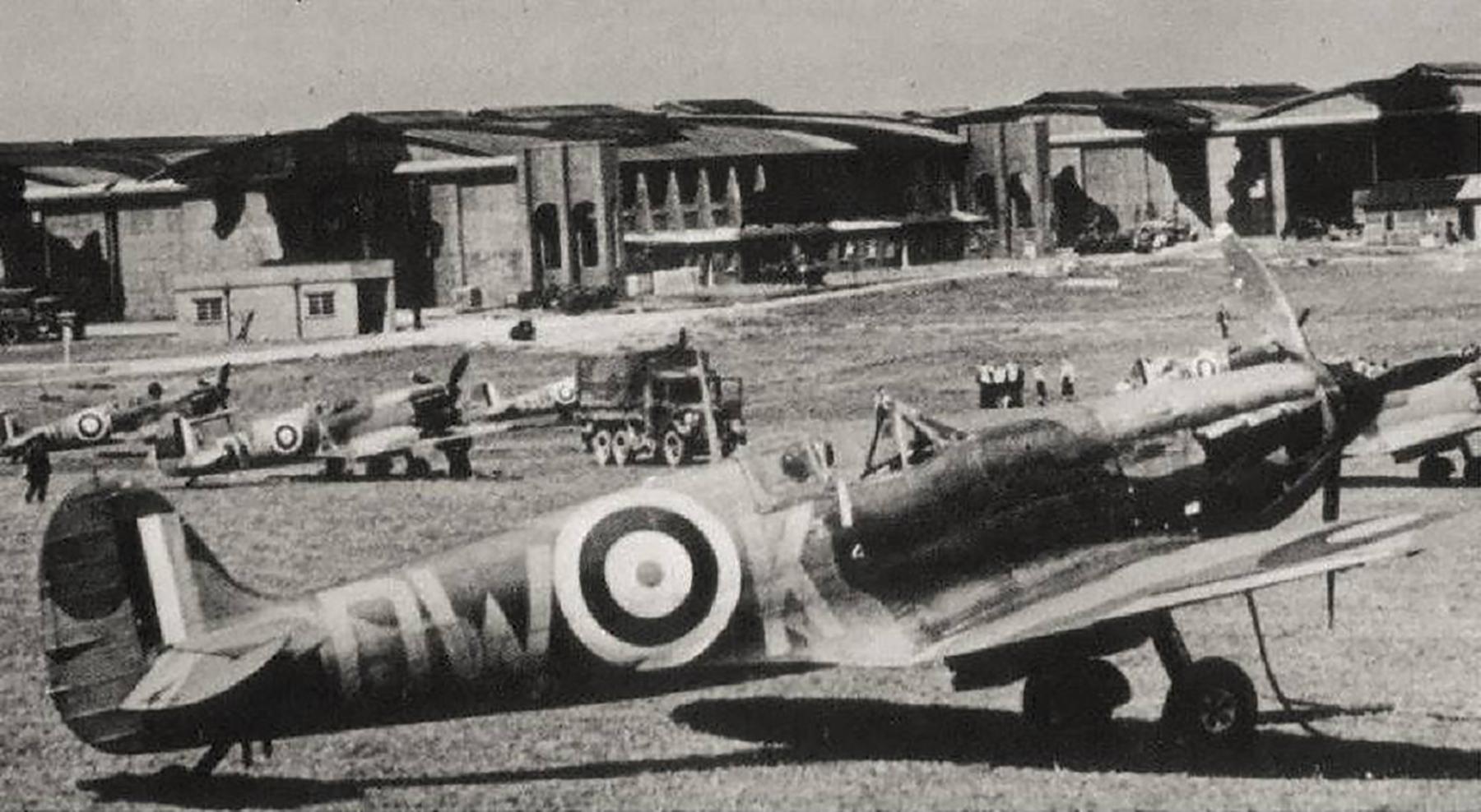 Spitfire MkIa RAF 610Sqn DWK N3289 Biggin Hill Kent 1940 01
