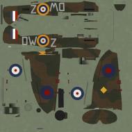 Asisbiz COD C6 MkI RAF 610Sqn DWZ Warner R6802 Chester England 1940