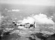 Asisbiz Spitfire FXIV RAF 610Sqn DWD RB159 in flight web 01