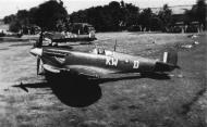 Asisbiz Spitfire MkVcTrop RAF 615Sqn KWD Lawrence Weggery MA292 Bengal India 1943 02