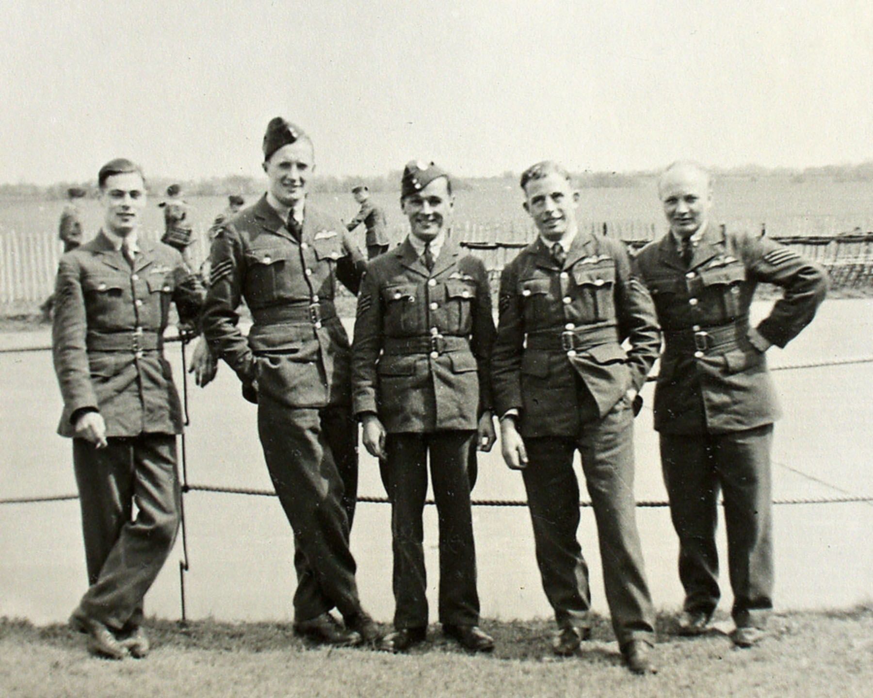 Aircrew RAF Patrick Sherlock Hayes RAF Sgt 740268 02