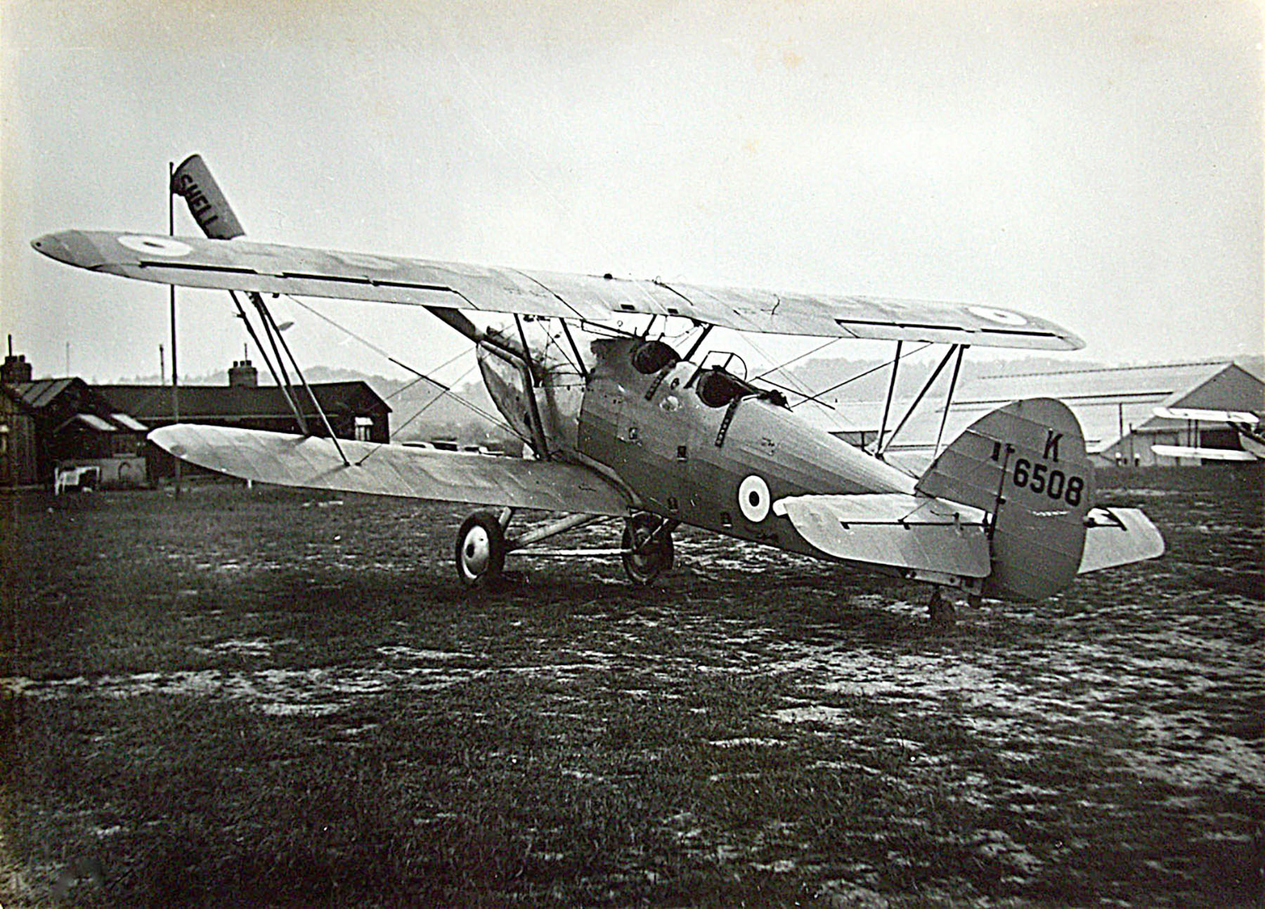 Hawker Hart T RAF K6508 trainer photo taken by Patrick Hayes KIA July 7 1940 01