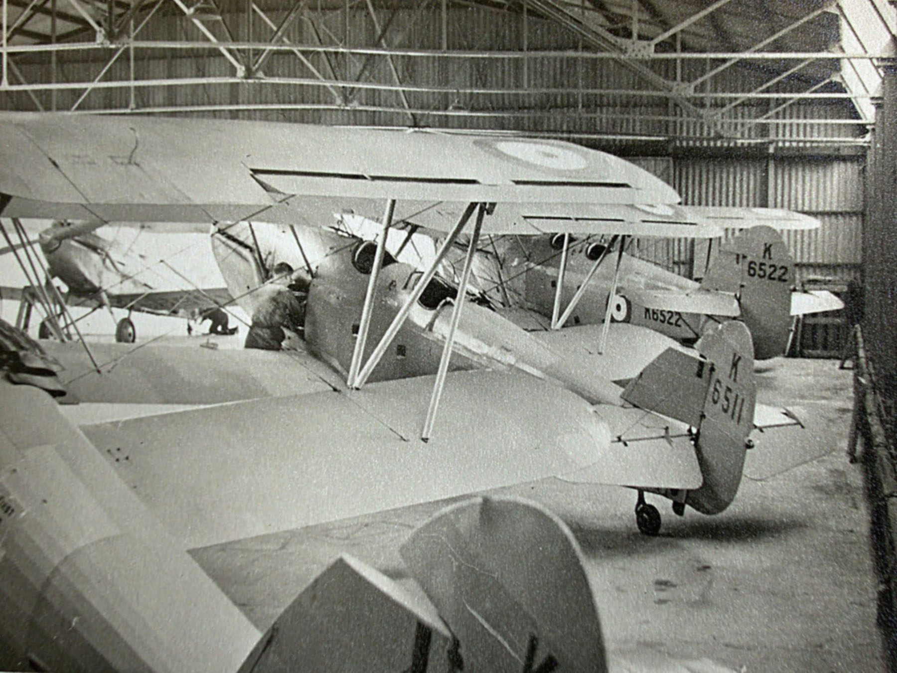 Hawker Hart T RAF K6511 and K6522 trainer photo taken by Patrick Hayes KIA July 7 1940 01