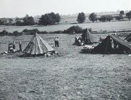 Asisbiz RAF Hornchurch 65Sqn digs photo taken by Patrick Hayes KIA July 7 1940 01