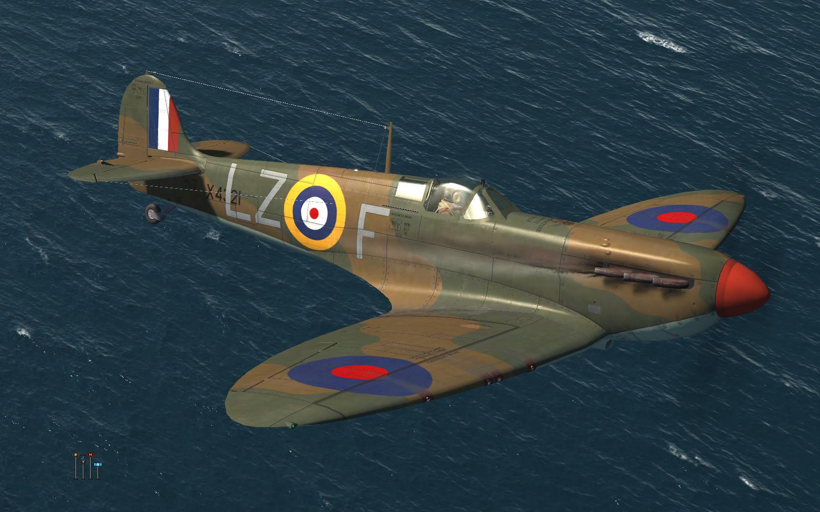 COD KF MkIa RAF 66Sqn LZF PO Crelin Bodie X4321 Kenley 1940 V0A