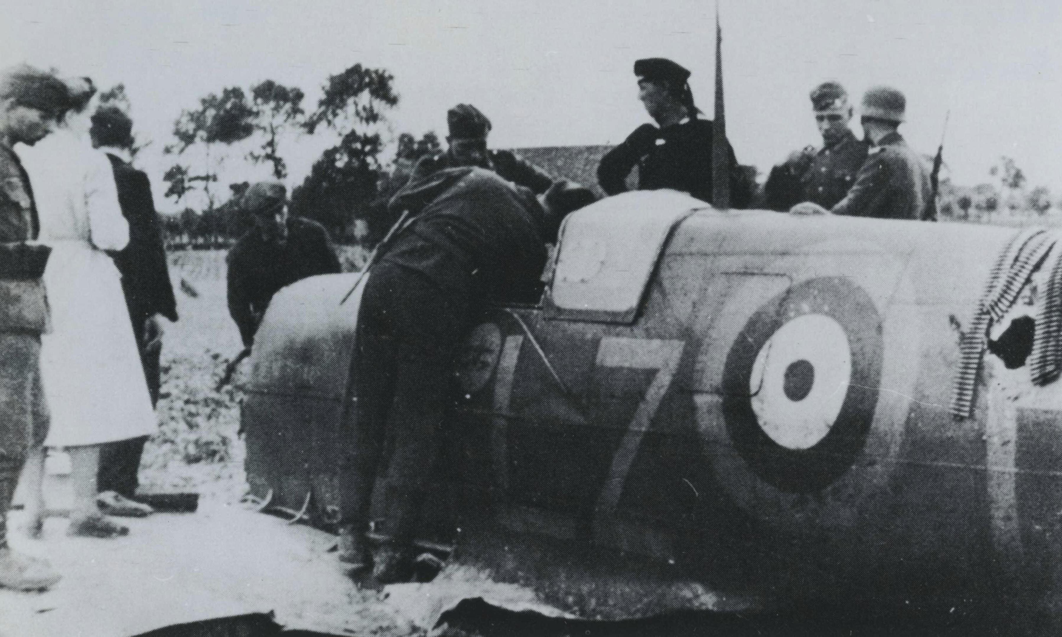 Spitfire RAF 66Sqn LZP Stevens P7787 sd by JG52 nr Groede 1POW 12th Aug 1941 NIOD