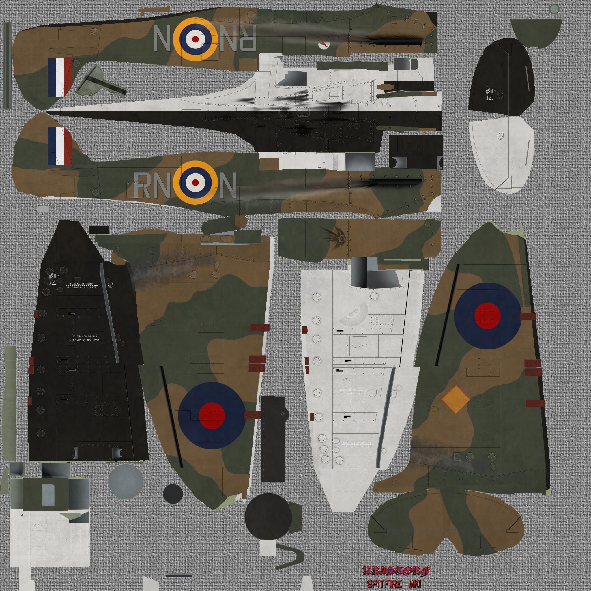 COD KF MkI RAF 72Sqn RNN Acklington 1940