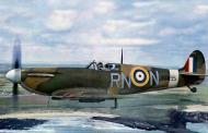 Asisbiz Spitfire MkIIa RAF 72Sqn RNN Flt Lt R Deacon Elliot P7895 based at Acklington Northumberland April 1941 01