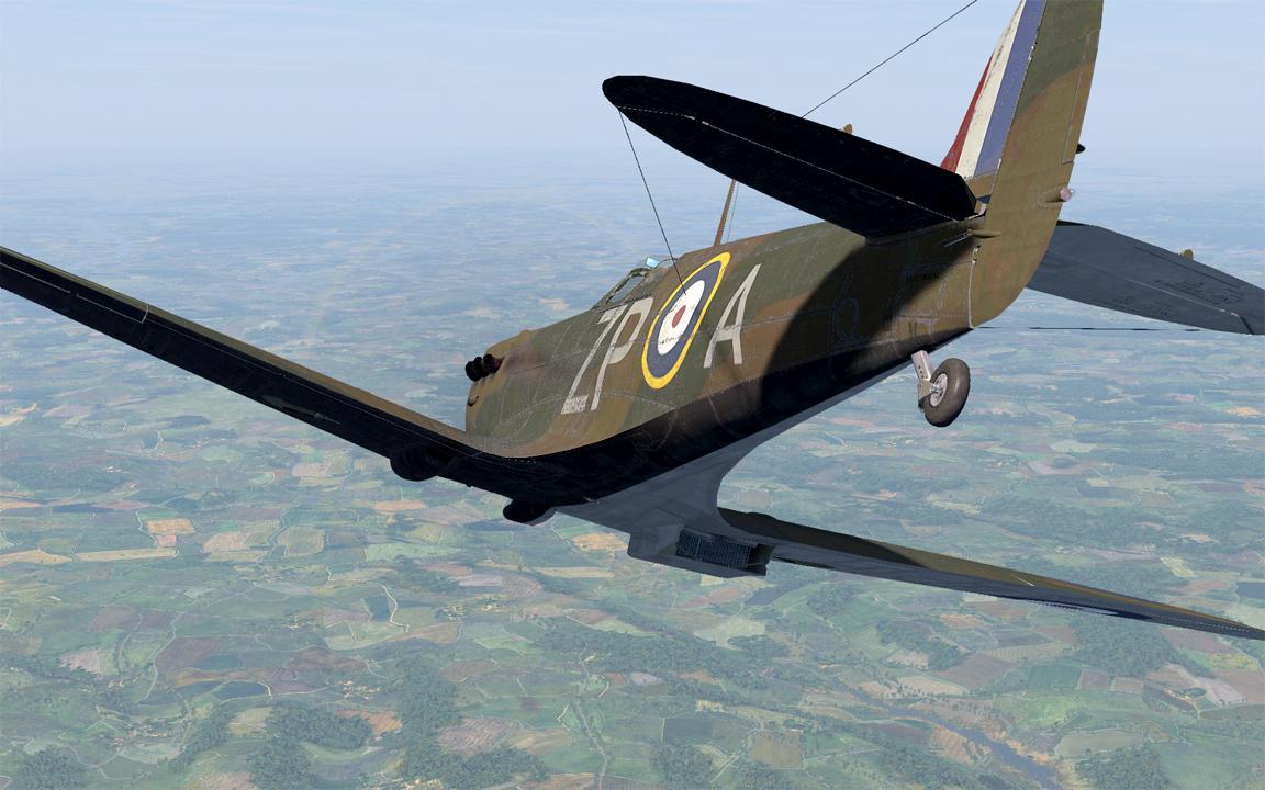 COD AS MkI RAF 74Sqn ZPA Sailor Malan England 1940 V0A