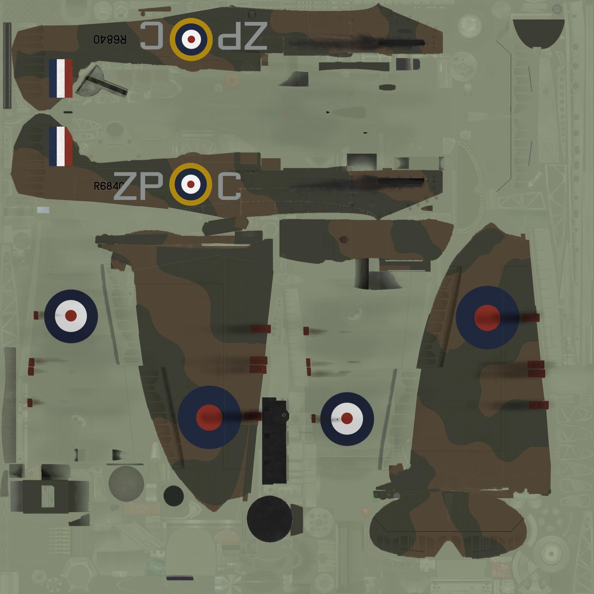 COD SO MkI RAF 74Sqn ZPC John Freeborn R6840 Essex 1940