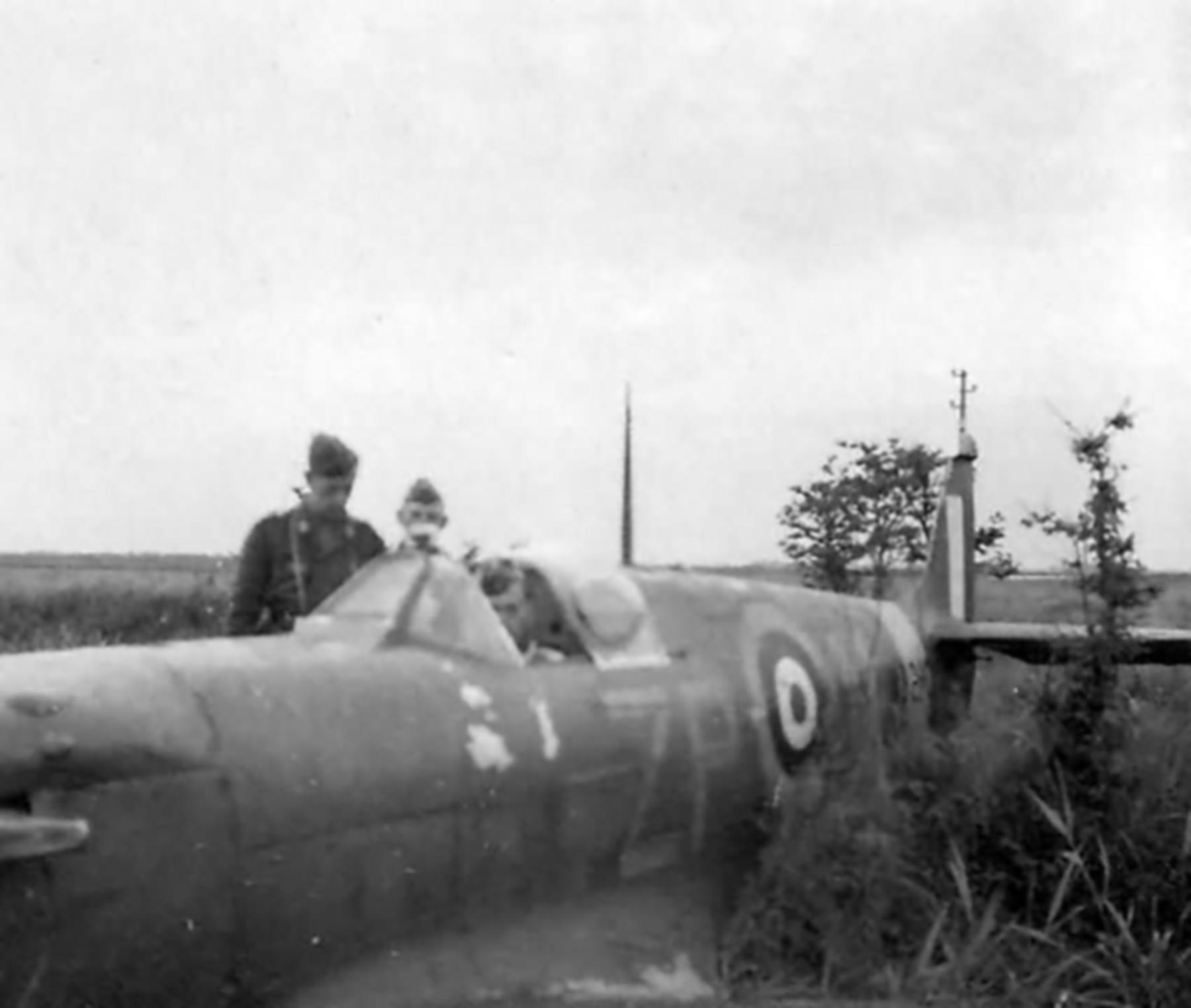 Spitfire MkVb RAF 74Sqn ZPN WJ Sandman PoW W3210 escort to Hazebrouck 27th Jun 1941 03