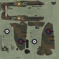 Asisbiz COD SO MkI RAF 74Sqn ZPC John Freeborn R6840 Essex 1940