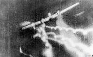 Asisbiz Gun camera film RAF 74Sqn PWF Treacy hitting a Messerschmitt Bf 110 near Dunkirk IWM C1703