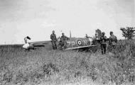 Asisbiz Spitfire MkVb RAF 74Sqn ZPN WJ Sandman PoW W3210 escort to Hazebrouck 27th Jun 1941 01