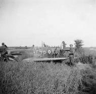 Asisbiz Spitfire MkVb RAF 74Sqn ZPN WJ Sandman PoW W3210 escort to Hazebrouck 27th Jun 1941 02