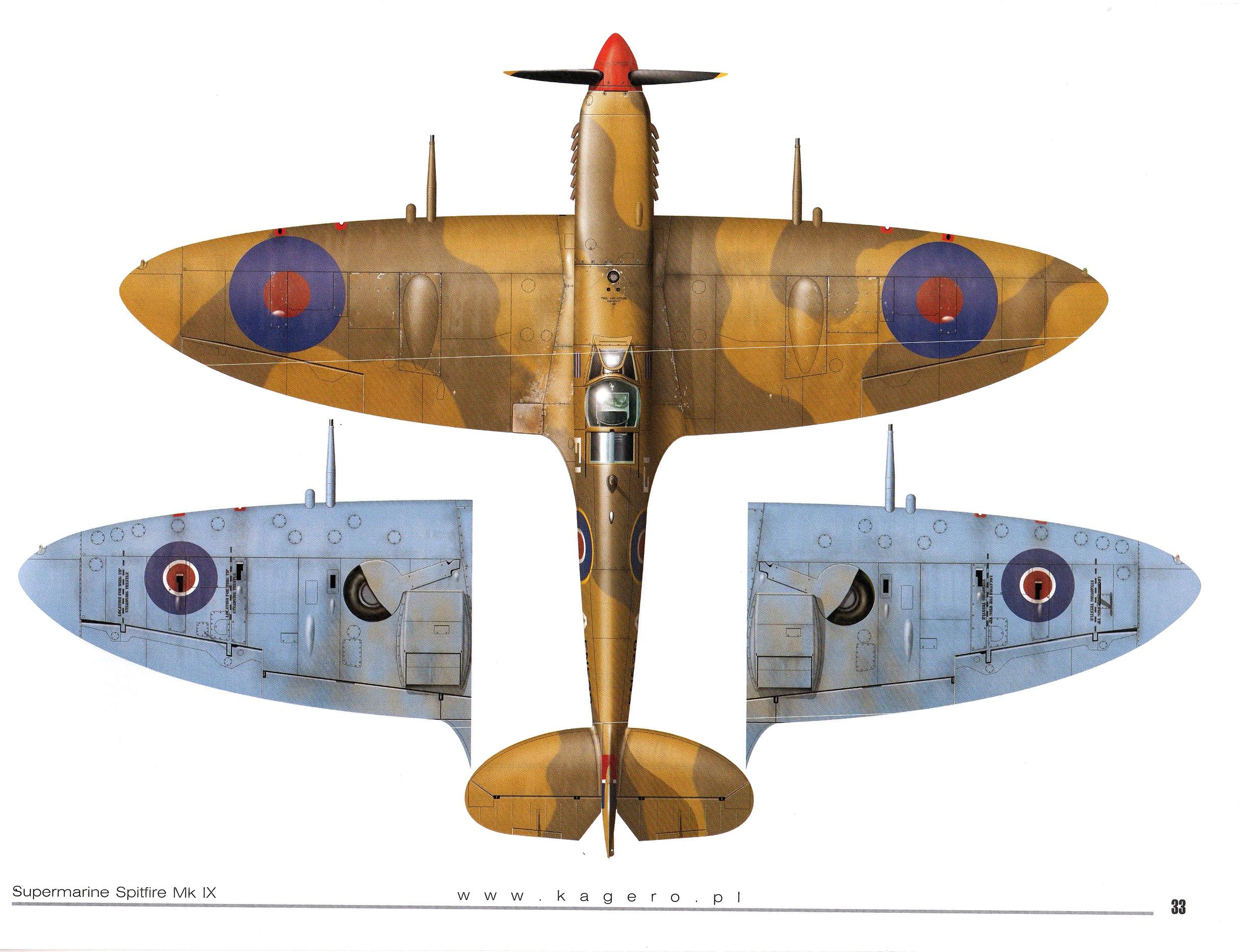 Spitfire MkIXc RAF 81Sqn FLA Colin Gray EN520 TC15015 Supermarine Spitfire MkIX Page 29