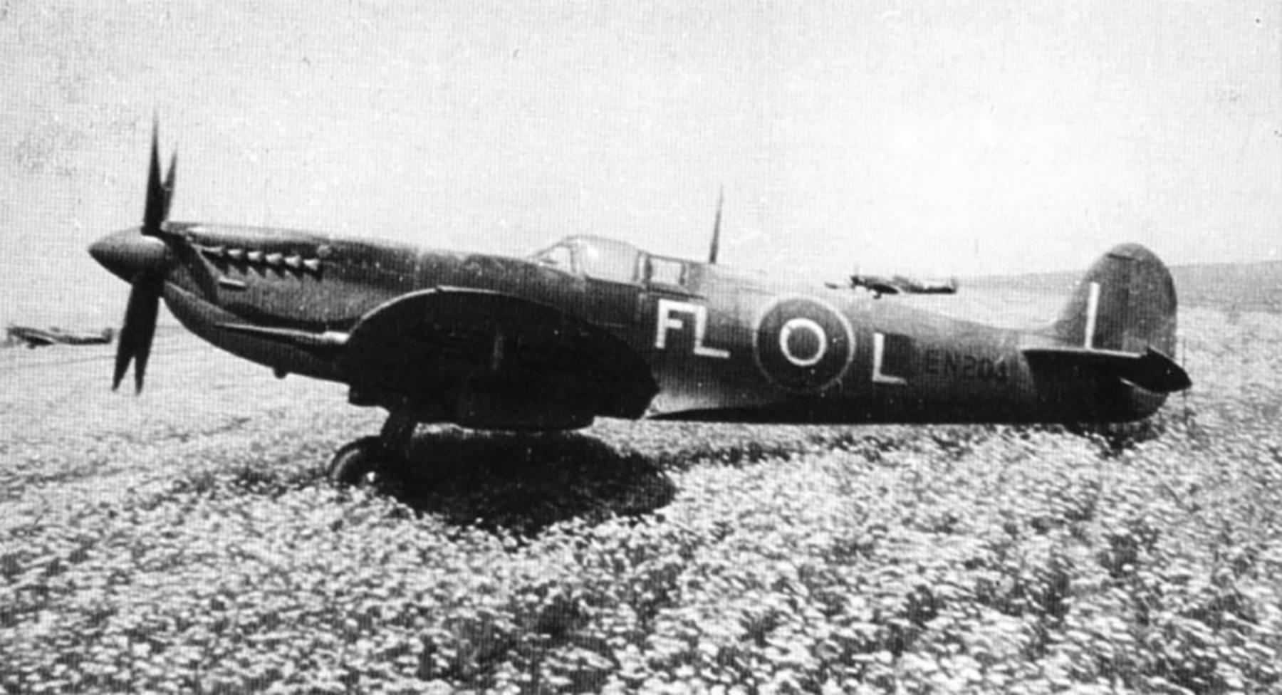 Spitfire MkIXc RAF 81Sqn FLL Larry Cronin EN204 Tunisia Apr 1943 01