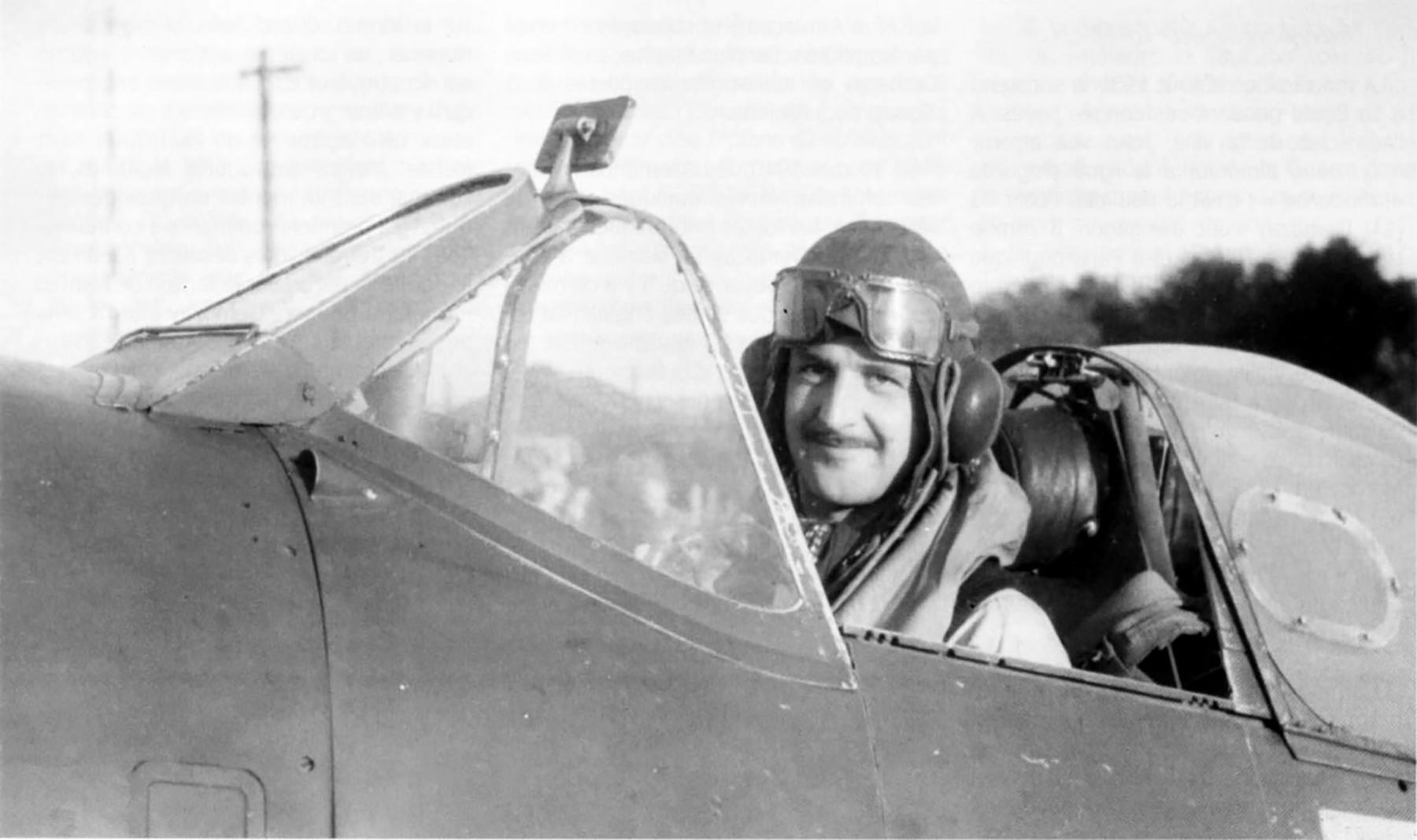 Spitfire MkVb RAF 91Sqn DLJ Jean Demozay Hawkinge 1941 01