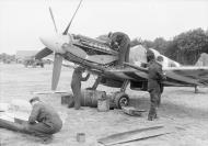 Asisbiz Spitfire XIV RAF 91Sqn at West Malling England Summer 1944 web 01