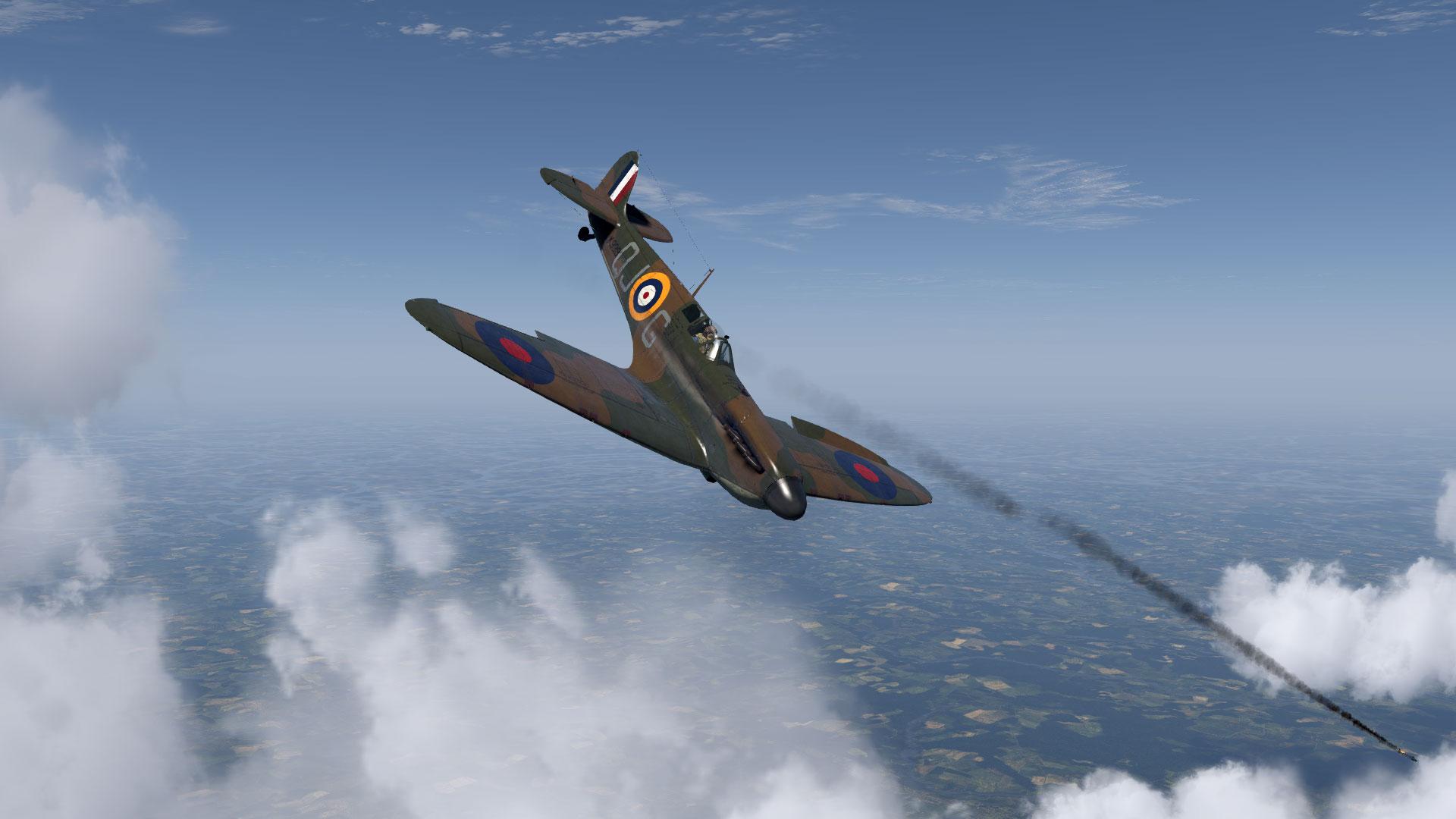 COD KF MKIa RAF 92Sqn QJG Geoffrey Wellum K9998 Pembrey 1940 V03