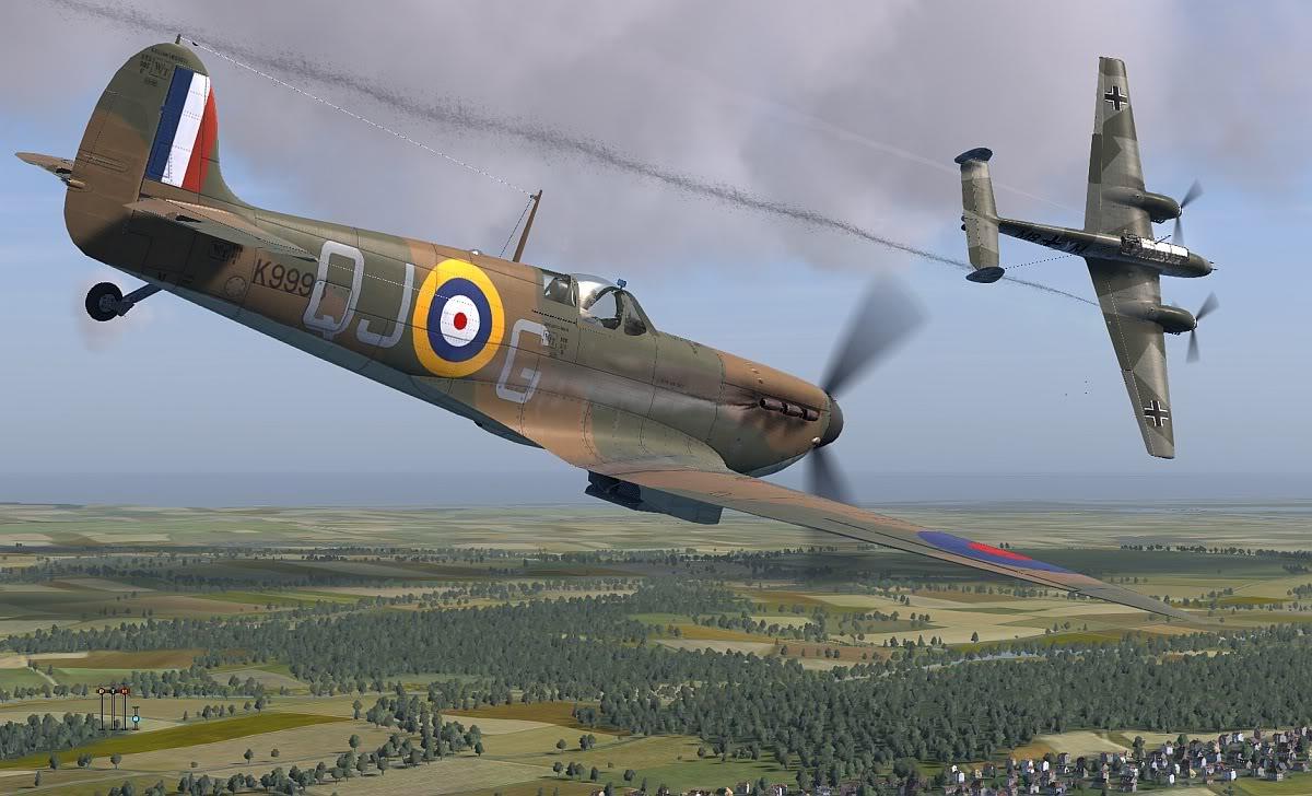 COD KF MKIa RAF 92Sqn QJG Geoffrey Wellum K9998 Pembrey 1940 V0A