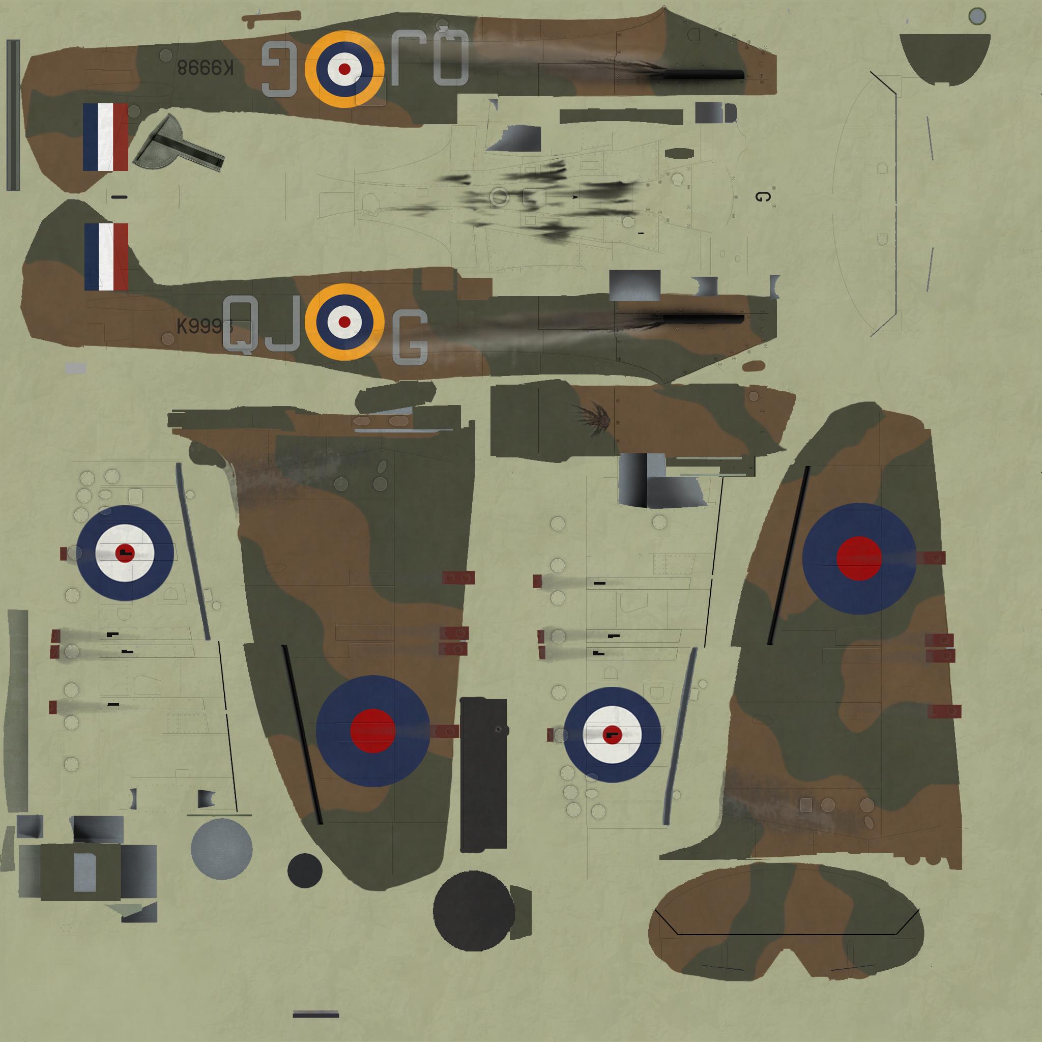 COD KF MKIa RAF 92Sqn QJG Geoffrey Wellum K9998 Pembrey 1940
