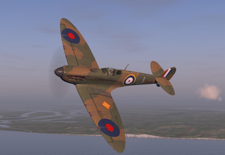 COD KF MkIa RAF 92Sqn GRJ P9374 France May 1940 V0D