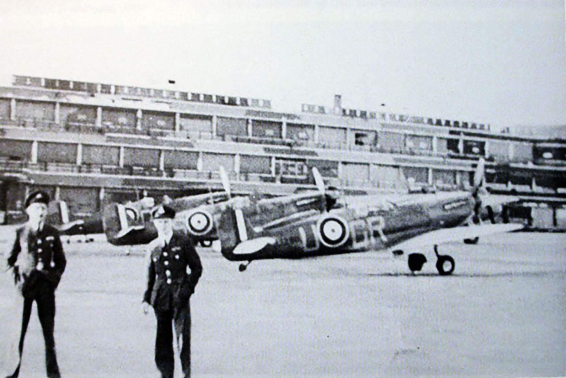 Spitfire MkIa RAF 92Sqn GRU N3290 France 1940 01