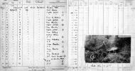 Asisbiz Aircrew RAF 92 Squadron Clive Wawn pilots log book entries for Spitfire W3410 01
