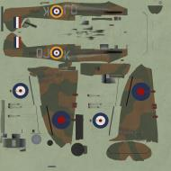 Asisbiz COD KF MkII RAF 92Sqn QJK Geoffrey Wellum P7350 Pembrey 1940