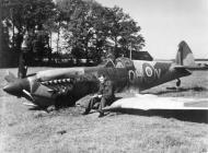 Asisbiz Spitfire LFXVI RAF 302sqn QHV 131FW Polish crash landed T Pyzik KIA Mar 3 1945 01