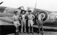 Asisbiz Spitfire XIVc RAF Detling Wing CG Colin Grey RM787 Lympne 1944 01