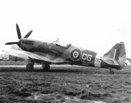 Asisbiz Spitfire XIVc RAF Detling Wing CG Colin Grey RM787 Lympne 1944 02