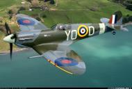 Asisbiz Airworthy Spitfire warbird as RAF 401Sqn YO D Bl628 01