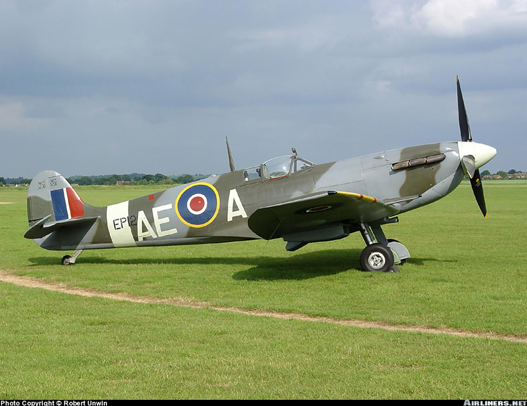 Airworthy Spitfire warbird LFVb RCAF 402Sqn AEA EP120 01