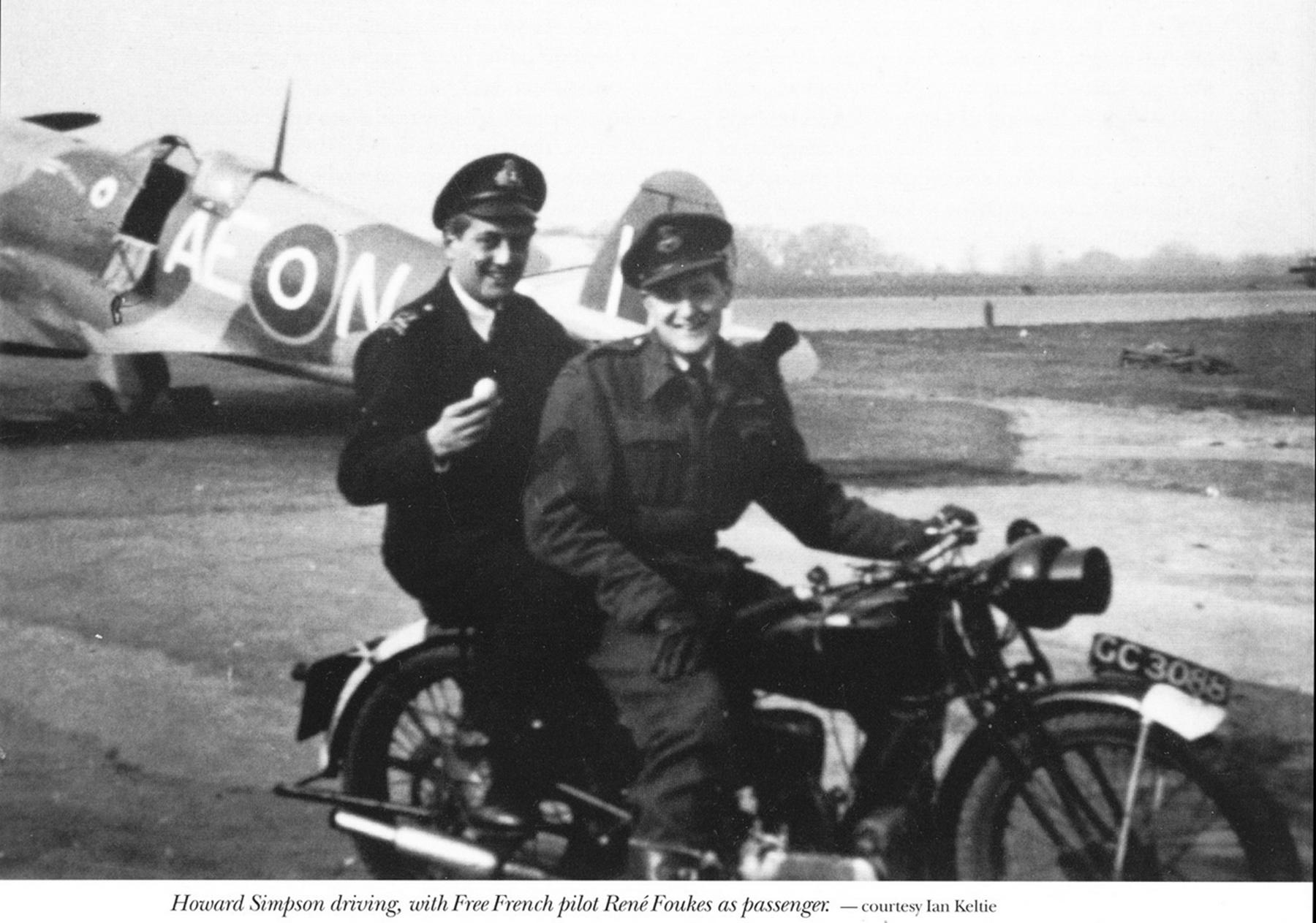 Spitfire MkIXc RCAF 402Sqn AEN BS430 background 1942 01