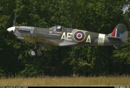 Asisbiz Airworthy Spitfire warbird LFVb RCAF 402Sqn AEA EP120 03