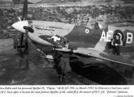 Asisbiz Spitfire MkIX RAF 402Sqn AEB Ian Keltie EN398 Mar 1943 01