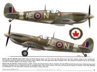 Asisbiz Spitfire MkIXc RCAF 402Sqn AEN SLdr Norman Bretz BS430 1942 TC15015 Supermarine Spitfire MkIX Page 21