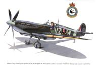 Asisbiz Spitfire MkIX RCAF 412Sqn VZW Ed Likeness MJ959 May 1944 0A