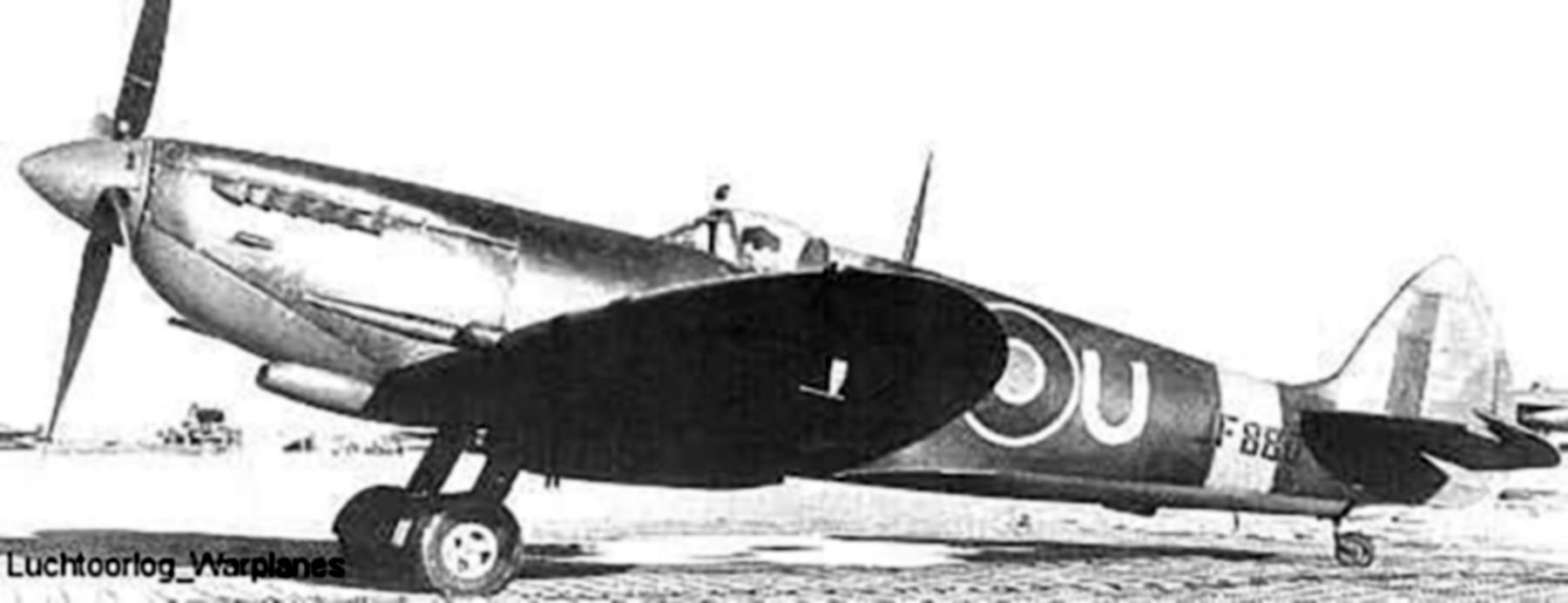 Spitfire LFVIII RCAF 417Sqn ANU JF880 01