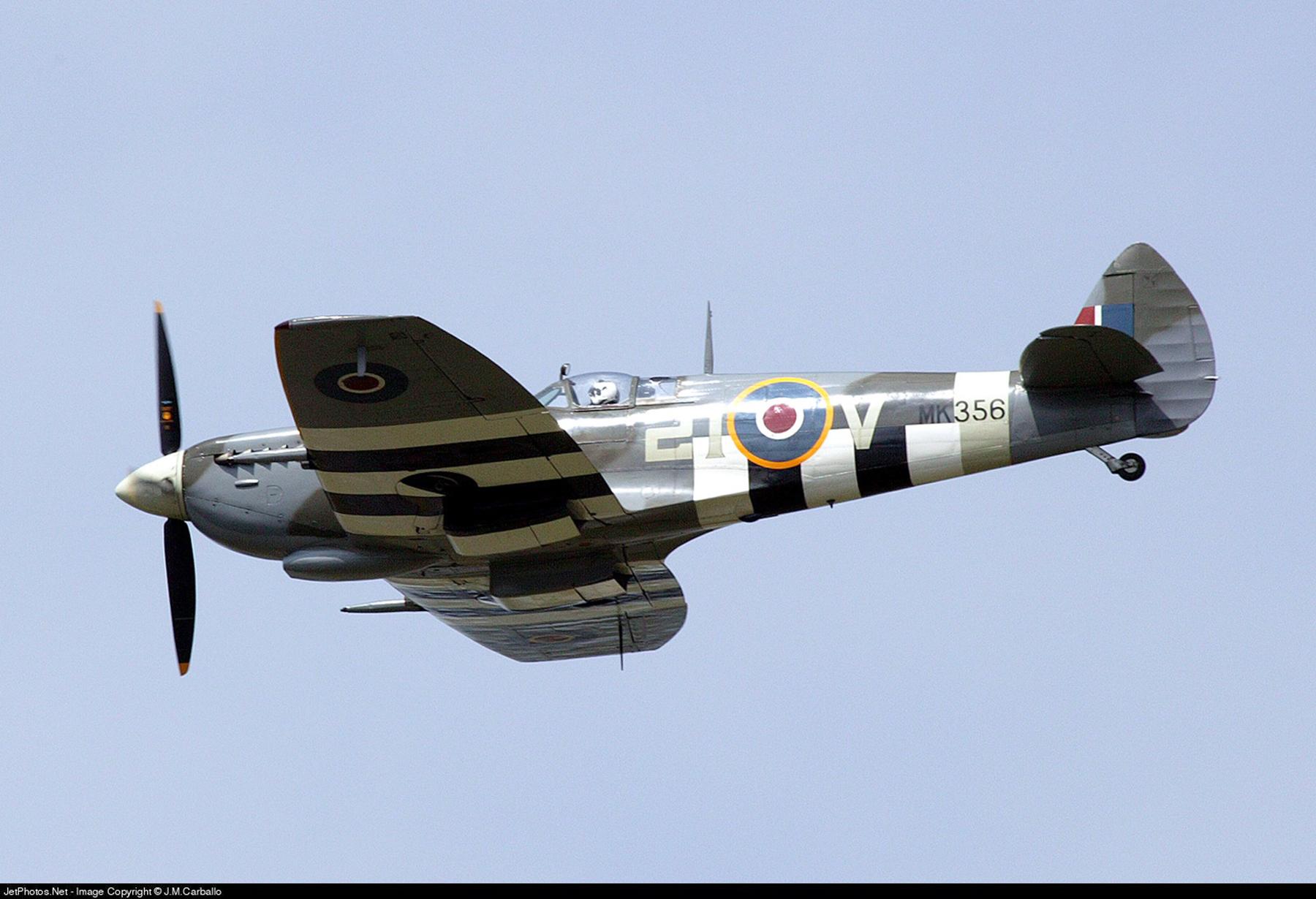 Airworthy Spitfire warbird MkIXe RCAF 443Sqn 2IV MK356 12