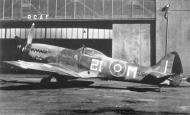 Asisbiz Spitfire FRXIV RCAF 443Sqn 2IM TZ198 Germany 1946 01