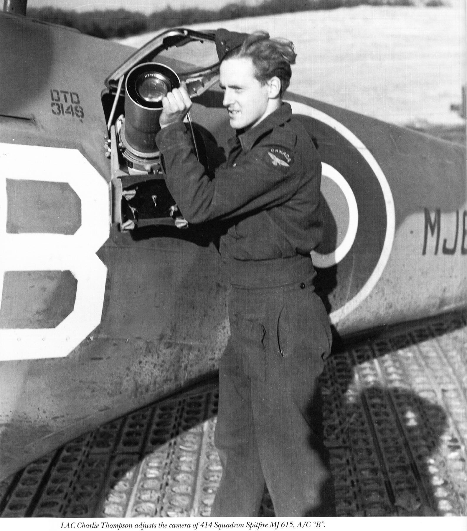 Spitfire LFIX RCAF 414Sqn B MJ615 1944 01