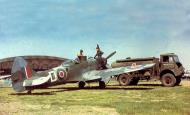 Asisbiz Spitfire FRXIV RCAF 414Sqn D NH757 Wunsdorf Germany Apr 1945 01