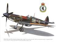 Asisbiz Spitfire LFIX RCAF 411Sqn DBG Richard Audet MK950 Dec 1944 0A