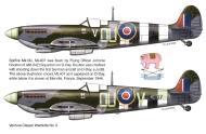 Asisbiz Spitfire MkIXc RNZAF 485Sqn OUV Johnnie Houlton ML407 Merville France Sep 1944 0A